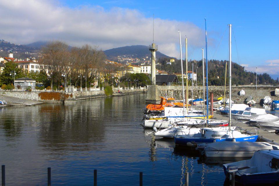 La storia di Verbania - Porto di Intra