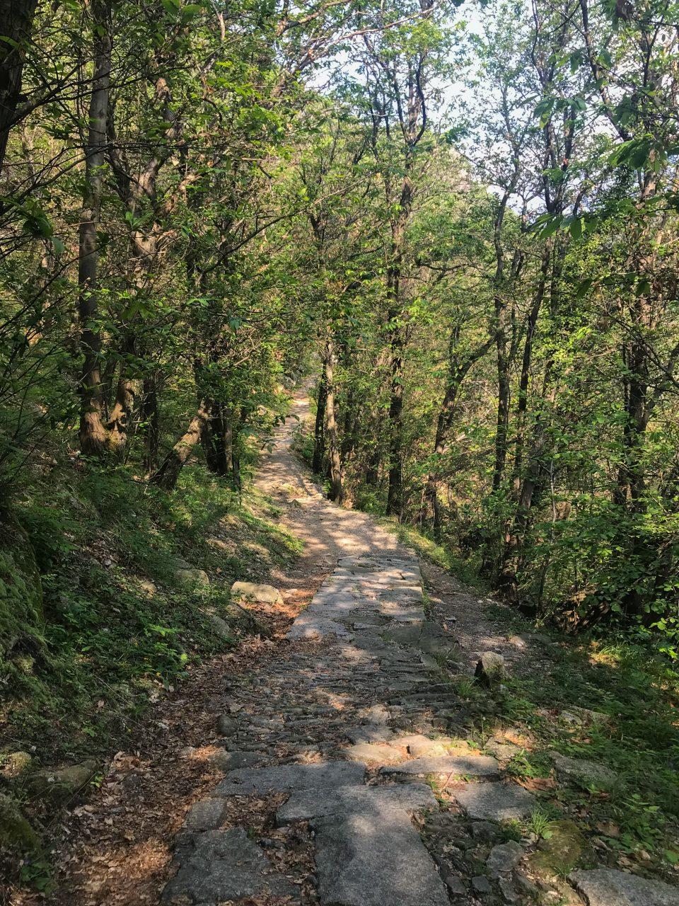 Passeggiata - Mergozzo - montorfano - Verbania - istanti in viaggio - sentiero azzurro