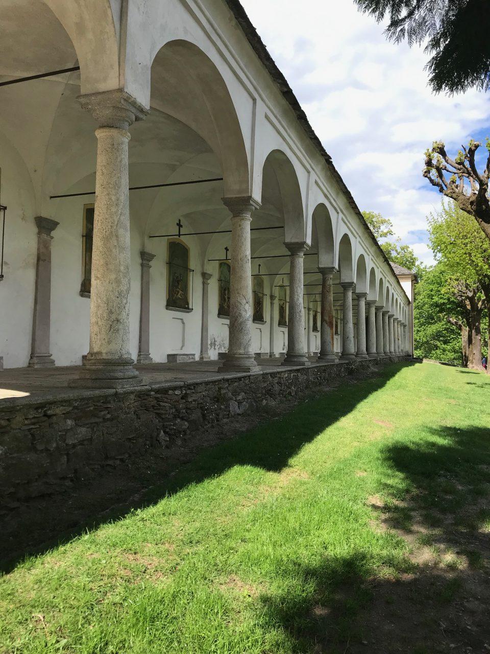 Via Crucis SS. Trinità di Ghiffa - Patrimonio unesco lago maggiore - lago maggiore verbania - ghiffa - trinità di ghiffa