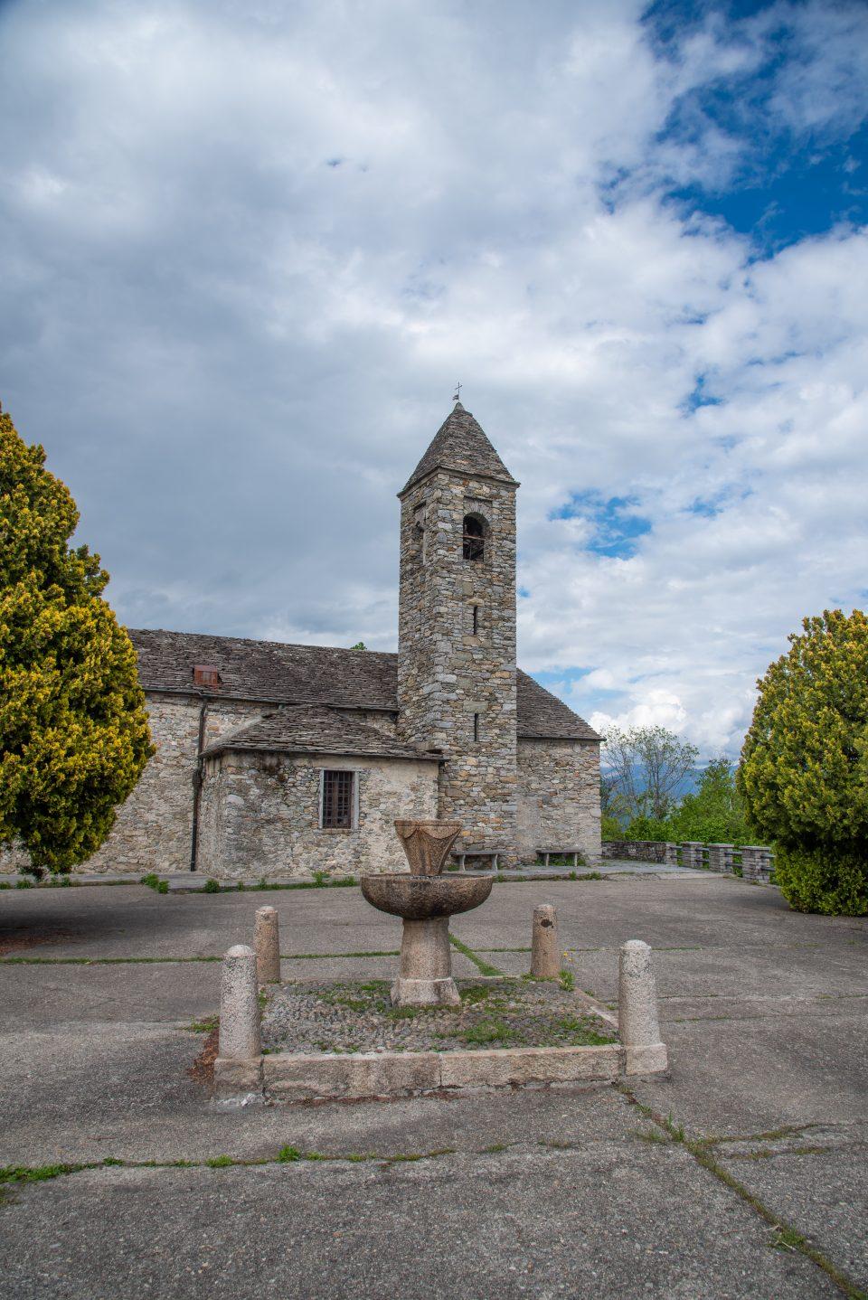 Chiesa di Novaglio - Sant'Agata di Novaglio - Oggebio - istanti in viaggio - Verbania - Lago Maggiore - Novaglio