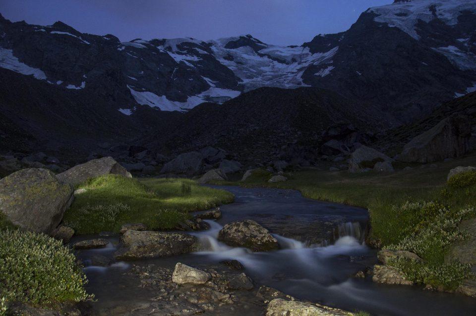 Fiume di notte - iso fotografia - paesaggi - fotografia in viaggio - istanti in viaggio