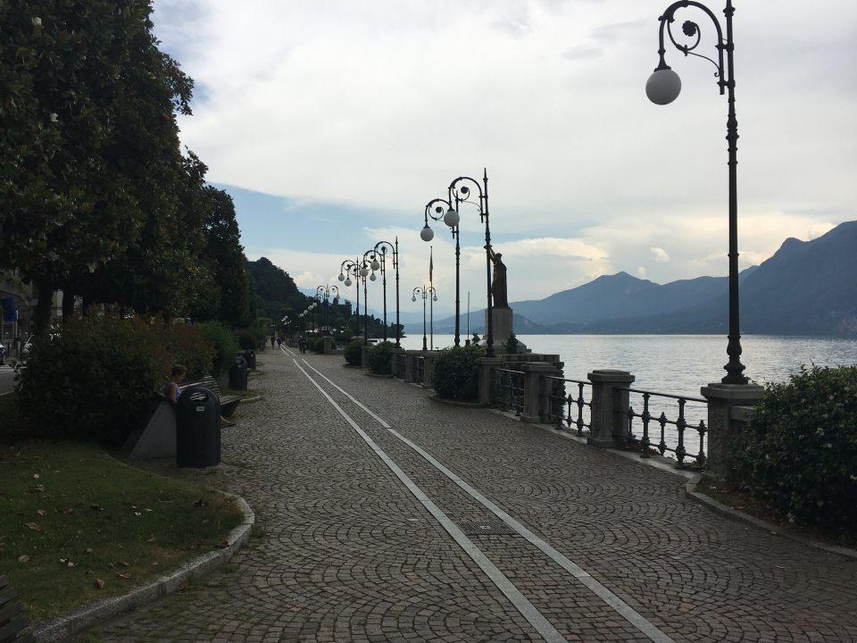 Lungolago di intra - Verbania - sport a verbania - Lago maggiore - Istanti in viaggio