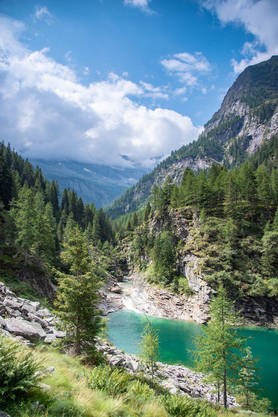 valle antrona - vista lago di antrona - campliccioli - escursione - valle antrona