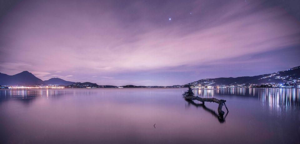 Notte al canneto - Canneto di fondotoce - fondotoce - riserva naturale di fondotoce - istanti in viaggio - foto notturne