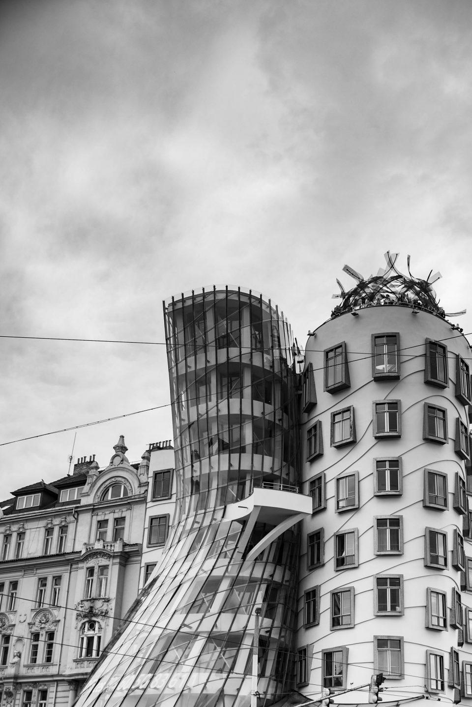 Praga Architettura - fotografare l'architettura - fotografare la città - istanti in viaggio - fotografia in viaggio