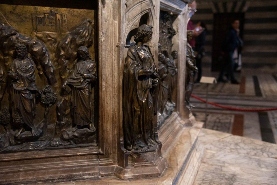 Siena, Siena da visitare, cosa vedere a siena, istanti in viaggio, battistero siena